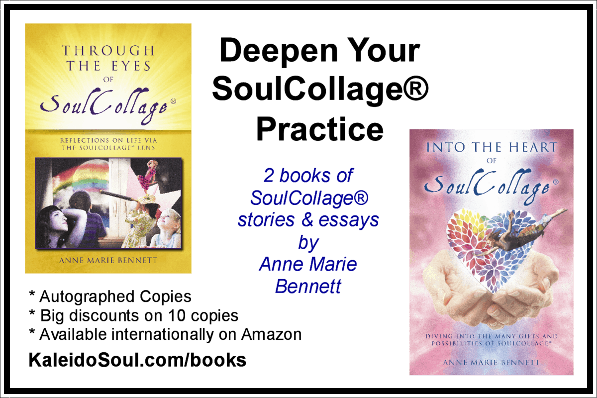 Soul songs take your soulcollage work and play higher and deeper with anne marie bennetts 2 books full of essays on all things soulcollage fandeluxe Choice Image